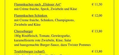 """Neue Leckereien im Biergarten """"An der Mosel"""""""