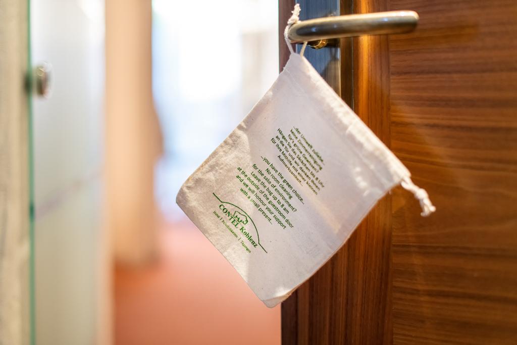 Der Umwelt zu Liebe Verzicht auf Zimmerreinigung